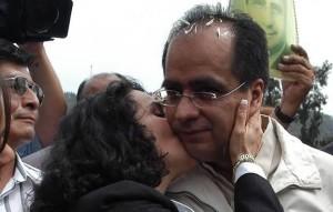 Dolores Padierna y René Bejarano