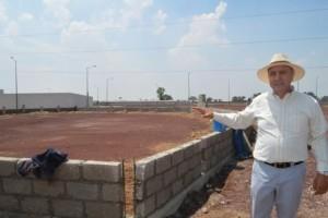 El alcalde supervisa las obras