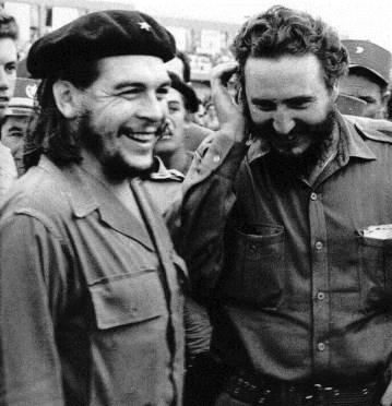 El comandante Castro y el Che Guevara