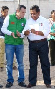 Ernesto Vázquez y Pedro Luis Noble, la formula priísta por el tercer distrito