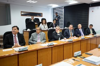 Los gobernadores del centro del país