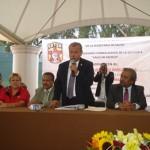 Domingo Ortuño hizo el anuncio oficial