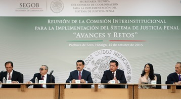 El Nuevo Sistema de Justicia Penal de Hidalgo es modelo a   seguir