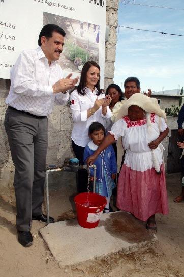 Dotar de agua potable, otro de los beneficios sociales a   las comunidades
