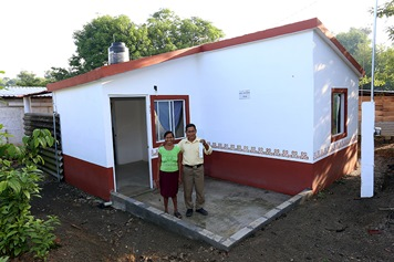 Las familias contarán  con un techo seguro