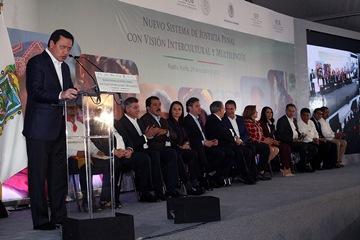 Miguel Ángel Osorio, titular de Gobernación, destacó el  compromiso del Presidente Peña Nieto a favor de las etnias del país
