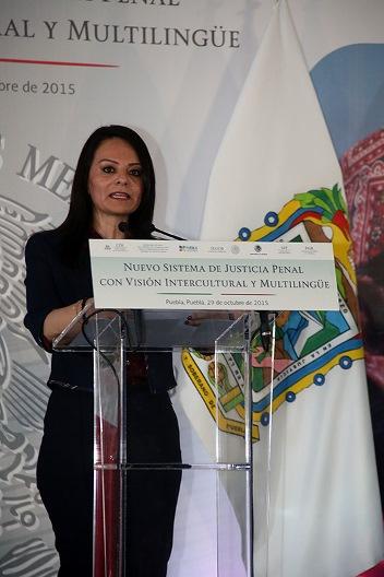 Nuvia Mayorga redirecciona el rumbo de la justicia a los  indígenas