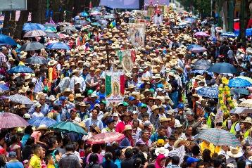 Foto especial. El pueblo mexicano, fiel a la Virgen de Guadalupe