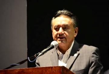 El líder del SME, Martín Esparza, les patentizó el  apoyo de su organización