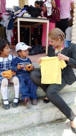 """Lety Cuatepotzo,:"""", yo tengo dos suéteres, si uno te sirve ahí va uno"""""""