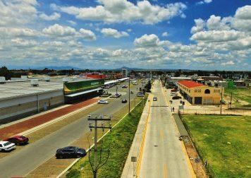 Modernas vialidades se han construido en Tizayuca, Hidalgo.