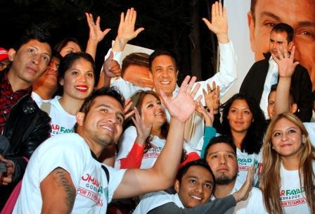 El aspirante al gobierno de Hidalgo convivió con la gente
