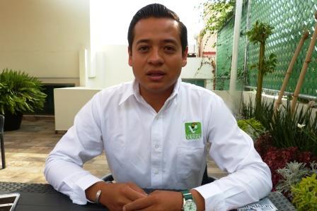 José Roberto Marquez, de las opciones jóvenes al Congreso Local