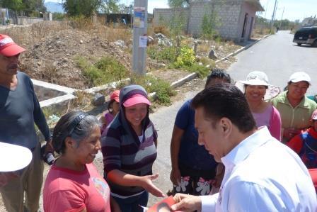 Durante su recorrido por las calles de San Agustín Tlaxiaca, Hidalgo