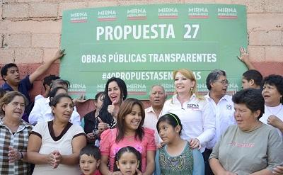 La aspirante a la alcaldía anuncia acciones que transparentarán su gobierno