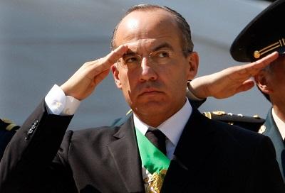 Calderón, no le duraron los titulares de Bucareli