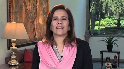 Margarita Zavala ante el dilema de cargar con una chiva loca