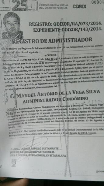 """Nombramientos ilegales expedidos en la PROSOC por incondicionales del """"Camarón"""" Hernández Raigosa"""