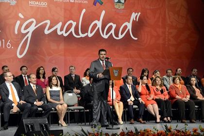 Respeto a la igualdad y derecho de las mujeres, reafirma Francisco Olvera