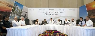 Continúan los esfuerzos del Gobierno Federal para combatir la inseguridad en el país