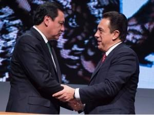 El Secretario de Gobernación acudió en representación del Presidente Enrique Peña Nieto (1)