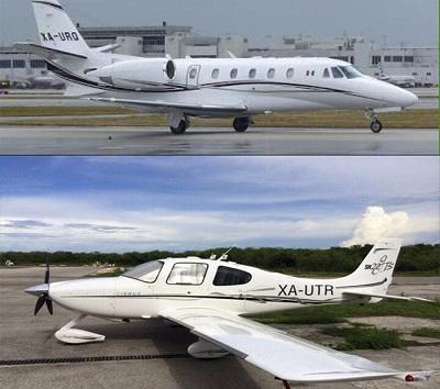 Aeronaves, para el lujo y confort del ex mandatario