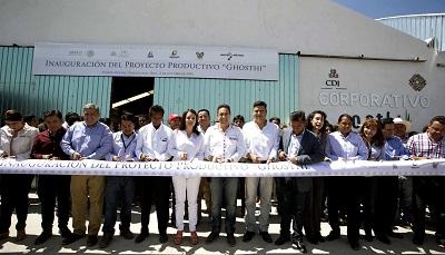 Más proyectos productivos a los municipios