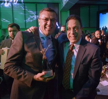 El gobernador, Omar Fayad, felicitó al alcalde, Alfonso Delgadillo