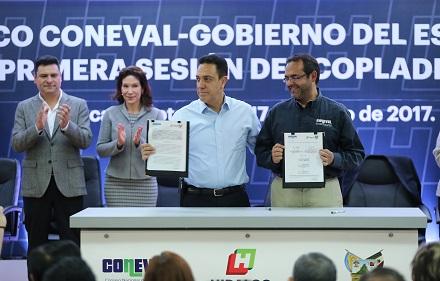 Acuerdos con dependencias como el INEGI y CONEVAL para analizar datos duros